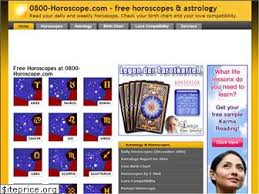 0800 Horoscope Free Birth Chart 0800 Horoscope Com Estimated Website Worth 14 851