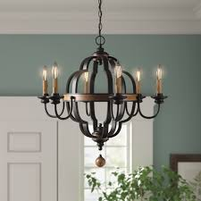 Bennington Candle Style Chandelier 6 Light Jamesburg 6 Light Candle Style Classic Traditional Chandelier