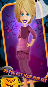 party salon horror night fashion dress up free makeup makeover s game screenshot on