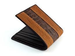 custom leather wallets croc