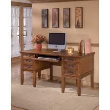 cross island leg desk ashley cross island collection ashley furniture home office desk