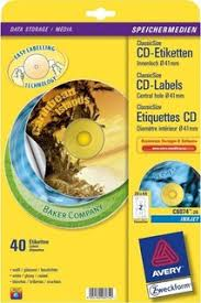 Avery Cd Labels Avery Cd Dvd Labels 117 Mm Diameter Round White 40 Labels Pack Price In Saudi Arabia Compare Prices
