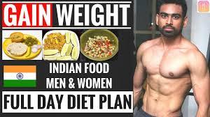 Full Day Diet Plan To Gain Weight For Beginners Men Women