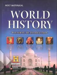 Pattern Of Interaction Simple Holt World History Pattern Of Interaction Package Homeschool
