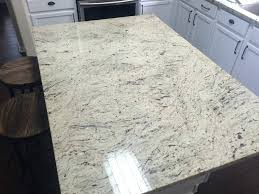 antique white granite kitchen island installation colonial backsplash ideas granit