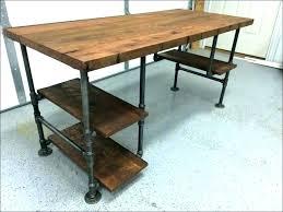 custom wood office furniture. Reclaimed Wood Office Furniture Custom Steel And