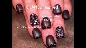 Chanel Nail Design Coco Chanel Nail Design By Jasmine Hodges Whi This Is My