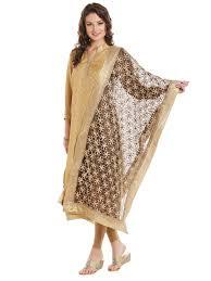 Designer Net Dupatta Online Dupatta Bazaar Womens Black Gold Designer Net Dupatta