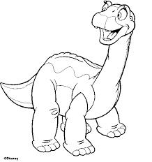 Disegni Da Colorare Dinosauri Walt Disney Fredrotgans