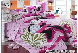 minnie mouse bed set full free pure cotton home textile mickey series twin full queen or comforter set mouse sheets set in bedding sets from home