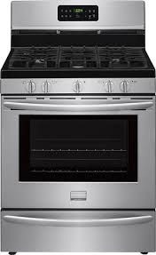 stove with griddle. Frigidaire - Gallery 5.0 Cu. Ft. Self-Cleaning Freestanding Gas Convection Range Stainless Steel Stove With Griddle N