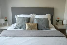 Diy Headboard Frame Plans Make Padded Queen Size Bed Room. Diy Pallet Headboard  With Lights How To Build A Bed ...