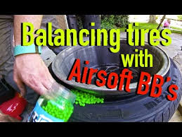 Car Tire Balancing Beads Chart How To Balance Tires With Airsoft Bbs Dirtcheapdaily Ep 7