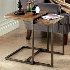 industrial style furniture. Furniture Of America Dornell Industrial Style Nesting Table