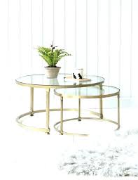 coffee table medium size of tables cool round glass home as copper arhaus ellington oak