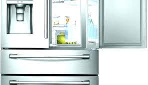 glass door home refrigerator front residential refrigerators freezer combo kitchen