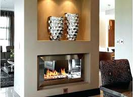 double sided gas fireplace indoor outdoor awe inspiring 2 designmint co decorating ideas 33