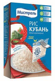 Купить <b>Рис</b> круглозерный <b>МИСТРАЛЬ Кубань</b>, в варочных ...