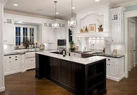 amazing classic led lights in the kitchen design with chandelier above in inside chandelier over kitchen island