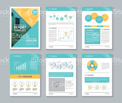 company profile annual report brochure flyer layout template stock 1 credit