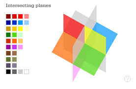 intersecting planes. intersecting planes