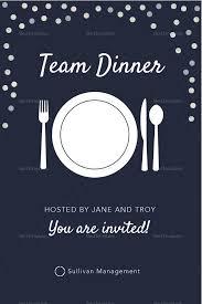 Dinner Invitation Template Joomlaexploit Com