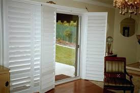 furniture extraordinary shutter blinds for patio doors 44 exterior plantation shutters sliding glass latest door image
