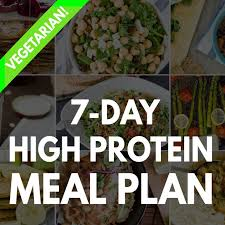 high protein vegetarian meal plan build muscle and tone up hurrythefoodup