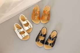 summer boys beach sandals children leather sandals shoes for baby summer shoes for kids white sandals black brown girls jpg