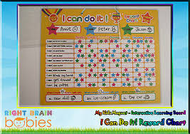How To Do A Reward Chart Kids Magnet I Can Do It Reward Chart Interactive Learning