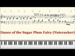 dance of the sugar plum fairy sheet music piano tutorial sheet tchaikovsky dance of the sugar plum fairy the