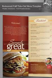 Restaurant Menu Design Templates 25 High Quality Restaurant Menu Design Templates Web Graphic