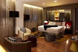 Modern Art Deco Bedroom Bedroom Charming Brown Wood Glass Modern Design Very Small
