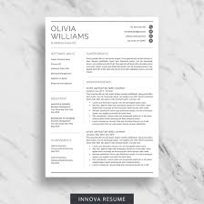 Best Resume Template 100 Best Etsy Resume Templates Graphicadi 55
