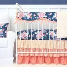 caden lane charleigh s c and navy 2 piece crib bedding set