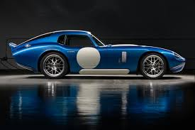 renovo coupe a shelby daytona coupe with an electric powerplant