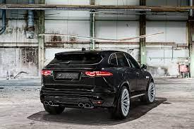 All Black Sinister Jaguar F Pace Gets Custom Parts Jaguar Jaguar Fpace Luxury Cars Range Rover