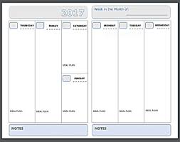 Horizontal Weekly Planner Template Free Printable Planner Pages The Make Your Own Zone