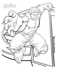 The Avengers Coloring Pages The Avengers Printable Coloring Pages