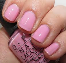 Opi Light Pink Nail Colors Opi I Think In Pink You Glitter Be Good To Me Nail Polish