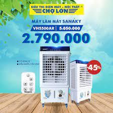 Siêu Thị Điện Máy - Nội Thất Chợ Lớn - ☣️ Máy Làm Mát Bằng Hơi Nước SANAKY  VH5500AR giảm 44% Giá còn: 2.799.000 (5.000.000) - Có Remote điều khiển từ  xa -