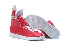 adidas shoes high tops for boys 2017. 2017 adidas originals women\u0027s high-tops casual shoes lotus red white high tops for boys