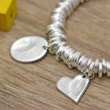 fingerprint jewellery bracelet