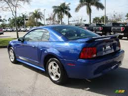 2003 Sonic Blue Metallic Ford Mustang V6 Coupe #26549098 Photo #5 ...