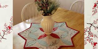 winters lane charm pack table topper