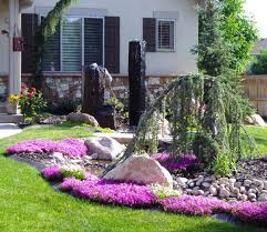 Small Picture Low Maintenance Gardens Ideas On A Budget Best Garden Reference