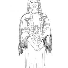 Native American Turtle Coloring Pages Pdf Day Cherokee Girl