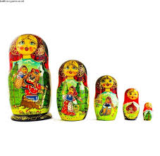 authentic 6 5 39 39 set of 5 red riding hood wooden nesting
