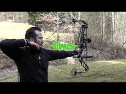 Elite Archery Impulse 34 Slow Motion Youtube