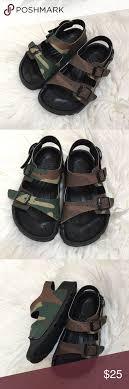 Birkenstock Size Chart For Kids Kids Birkis Sandals Euc Kids Camo Birkis Sandals Size 11